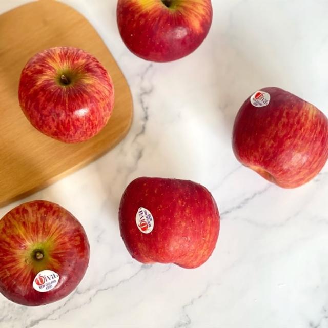 【馥果FruitGo】紐西蘭DIVA蘋果10粒/3公斤(天后/女神蘋果禮盒)