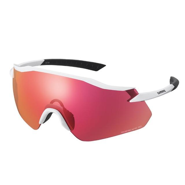 【SHIMANO】EQUINOX RIDESCAPE RD 一片式太陽眼鏡 金屬白