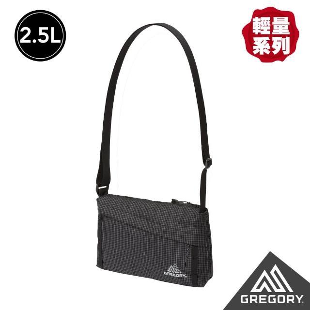 【Gregory】2.5L CROSSBODY AL 輕量肩背包(黑)