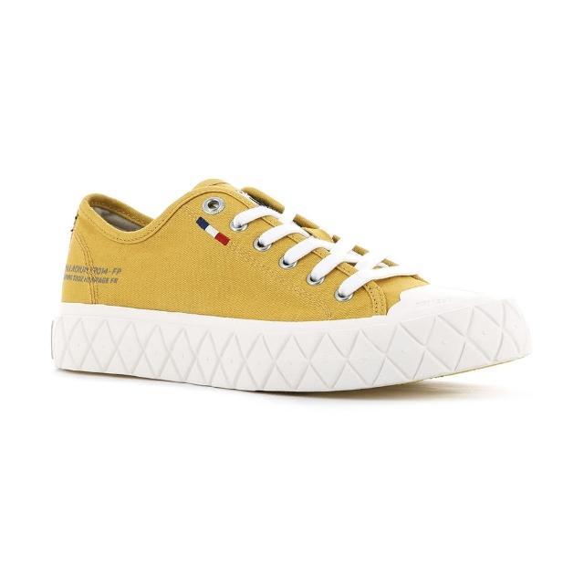 【Palladium】PALLA ACE CVS 黃色 男女款 黃膠底 餅乾鞋(77014730)