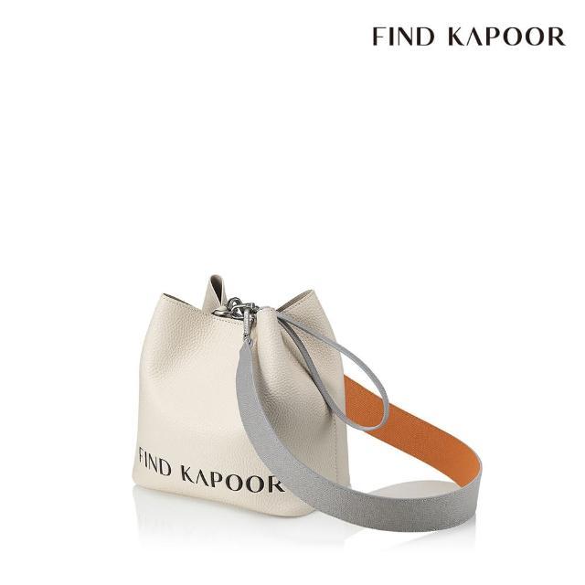 【FIND KAPOOR】PINGO 20 字母系列 手提斜背水桶包- 象牙白