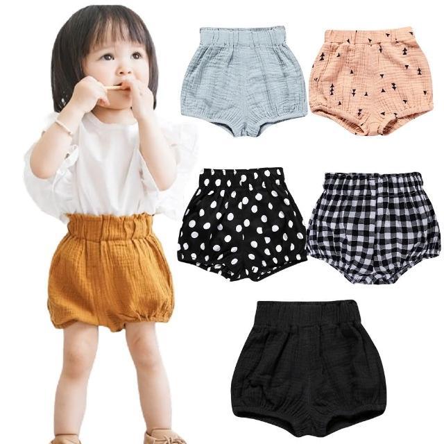 【Baby 童衣】寶寶麵包褲 多花色棉麻PP褲 88713(共7色)