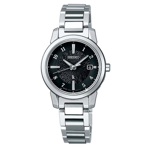【SEIKO 精工】LUKIA限量太陽能電波藍寶石腕錶-黑28mm(SSQV081J/)