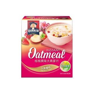 【桂格】美味大燕麥片-水果優格58.5gx5入(早餐推薦)