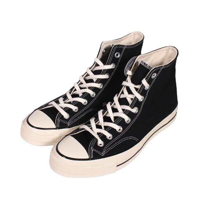 【CONVERSE】帆布鞋 高統 1970S 高筒黑 新 - 162050C