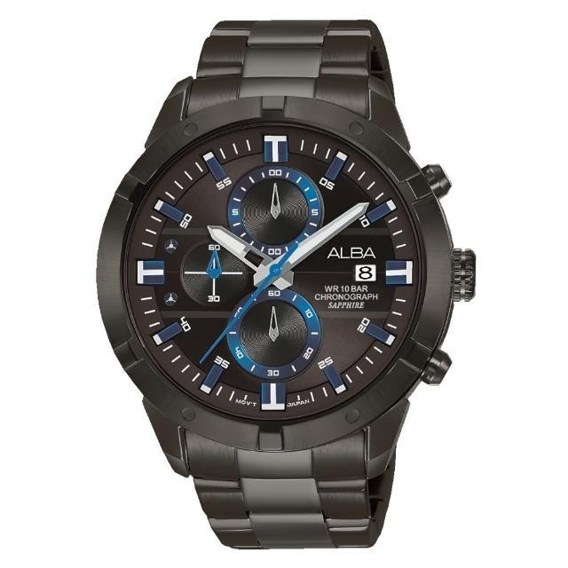 【ALBA】經典計時流行腕錶(VD57-X174SD/AM3751X1)