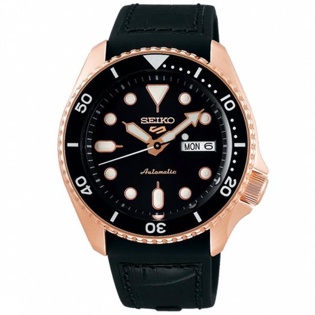 【SEIKO 精工】5 Sports 4R36機芯星期顯示錶-42.5mm(4R36-07G0J/SRPD76K1)