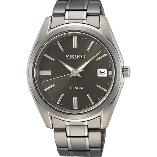 【SEIKO 精工】CS 時尚石英藍寶石水晶手錶39mm(6N52-00B0D/SUR375P1)