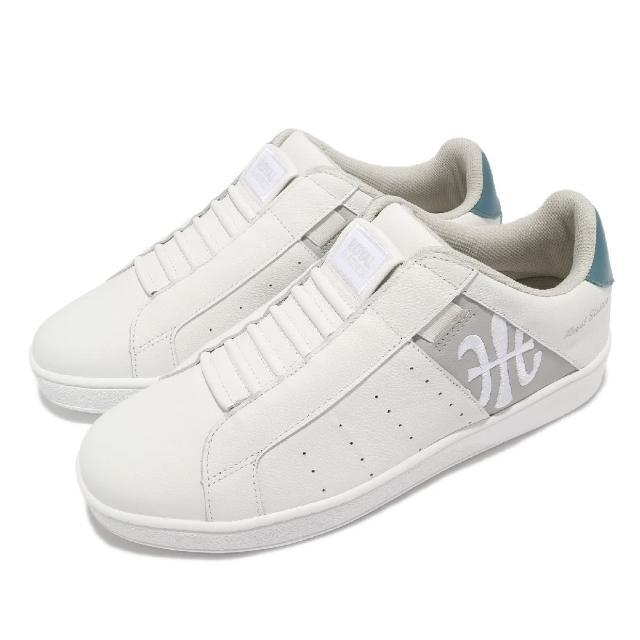 【ROYAL Elastics】休閒鞋 Icon 基本款 男鞋 皮革鞋面 舒適 簡約 質感 穿搭 白 灰(01912085)