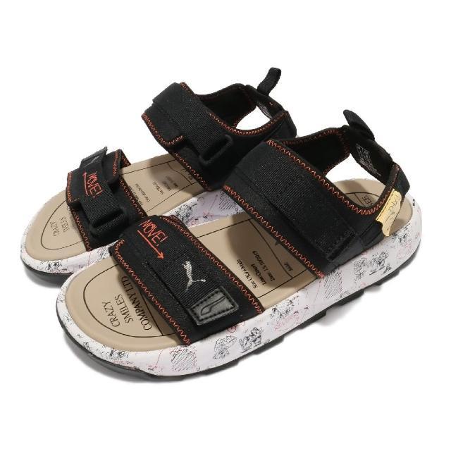 【PUMA】涼鞋 RS-Sandal Michael Lau 女 聯名款 SAMPLE 樣本 怪奇時尚 黑 白(38051701)