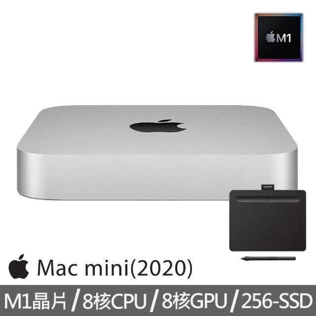 【+Wacom入門繪圖板】Mac mini M1晶片 8核心CPU 與 8核心GPU 256G SSD(MGNR3TA/A)