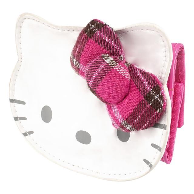 【TDL】Hello Kitty凱蒂貓大臉鎖包鑰匙包 233722