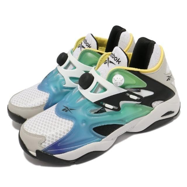 【REEBOK】休閒鞋 Pump Court 襪套 運動 男鞋 海外限定 輕量 舒適 充氣科技 穿搭 黑 白(FX9928)