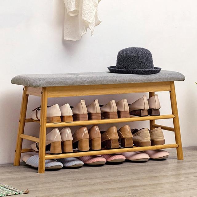 【HappyLife】北歐風多功能換鞋凳 寬90公分 Y10128(穿鞋椅 換鞋椅 開放式鞋架 鞋櫃 玄關鞋架 玄關收納)