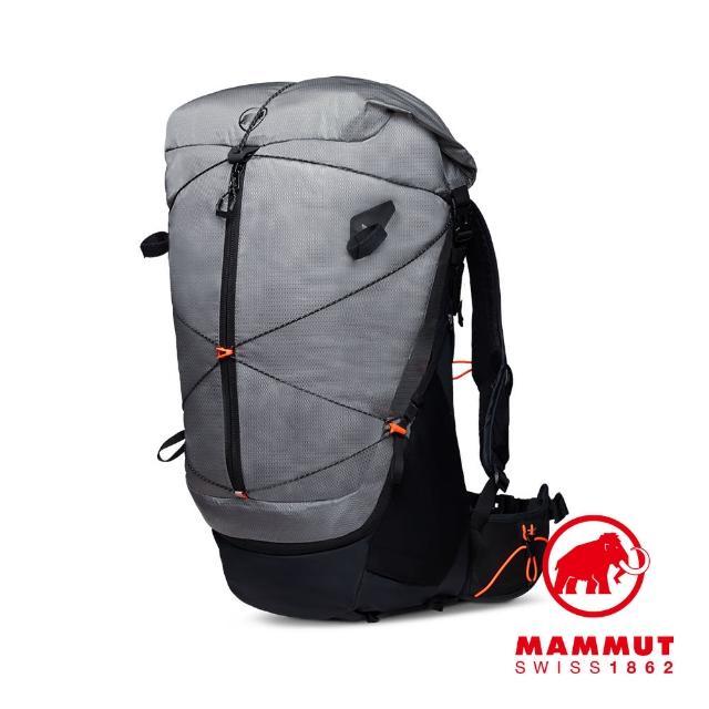 【Mammut 長毛象】Ducan Spine 50-60 輕量健行後背包 花崗岩灰 #2530-00370