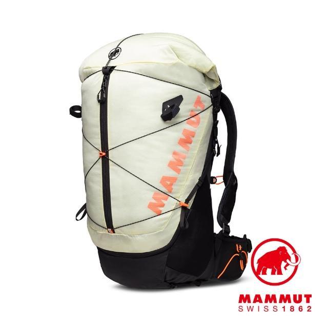 【Mammut 長毛象】Ducan Spine 50-60 輕量健行後背包 暖黃 #2530-00370