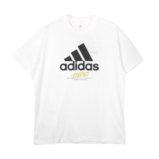 【adidas 愛迪達】圓領T 短 TAIPEI JOCKTAG 男 - GJ0294