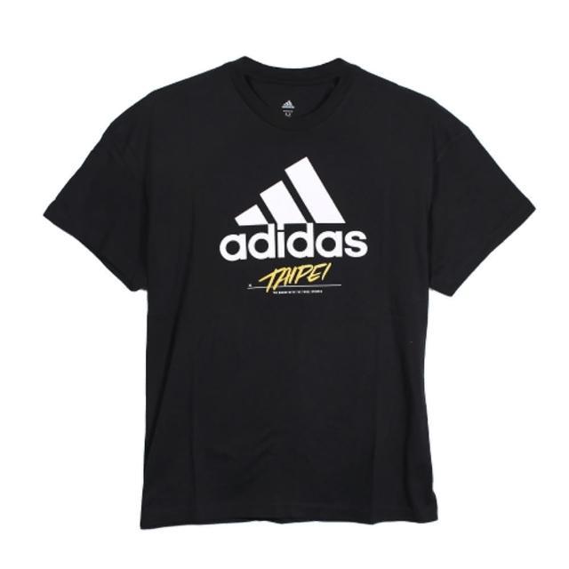 【adidas 愛迪達】圓領T 短 TAIPEI JOCKTAG 男 - GJ0293