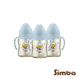 【Simba 小獅王辛巴】巧虎PPSU寬口吸管把手小奶瓶(3支組)