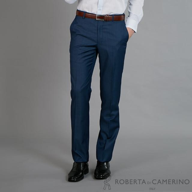 【ROBERTA 諾貝達】腰身嚴選 職場必備精品西裝褲(藍色)