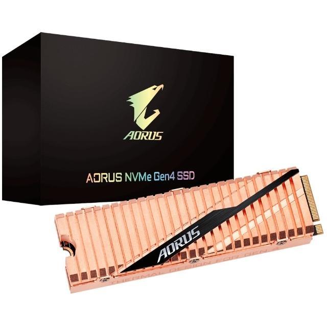 【GIGABYTE 技嘉】AORUS NVMe Gen4 SSD 1TB(GP-ASM2NE6100TTTD)