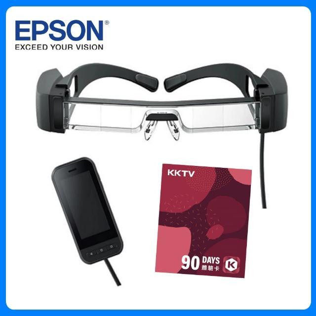 【EPSON】MOVERIO BT-40S 次視代智慧眼鏡(含控制器)