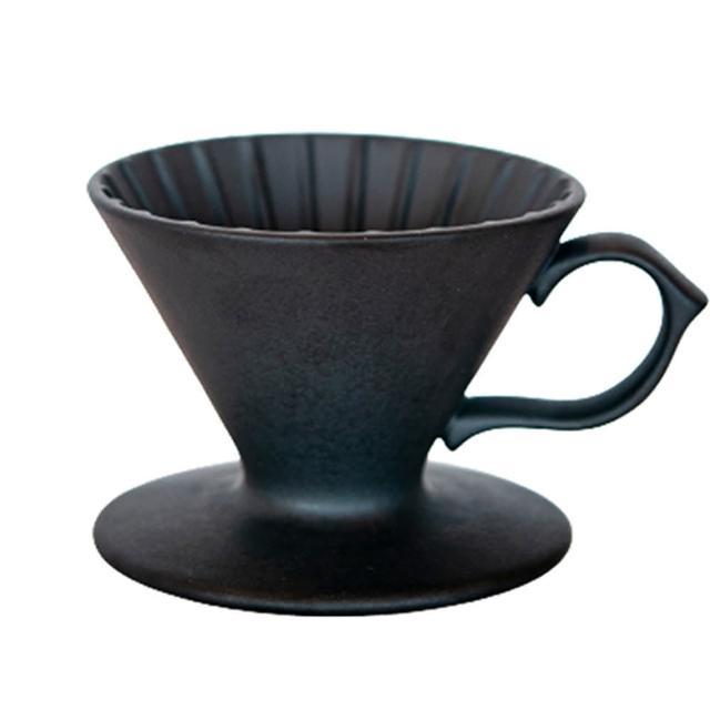【Tiamo】原礦手作濾杯V01 - 石墨黑(HG5531BK)