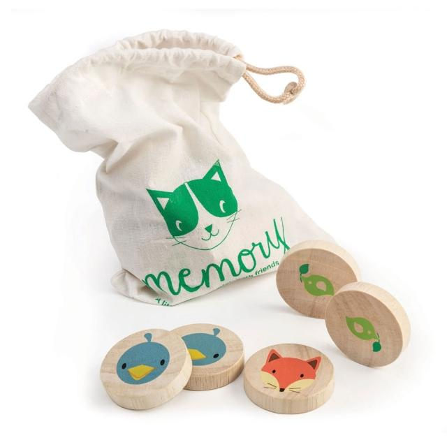 【Tender Leaf Toys】動物記憶遊戲組(21件積木組合配件)