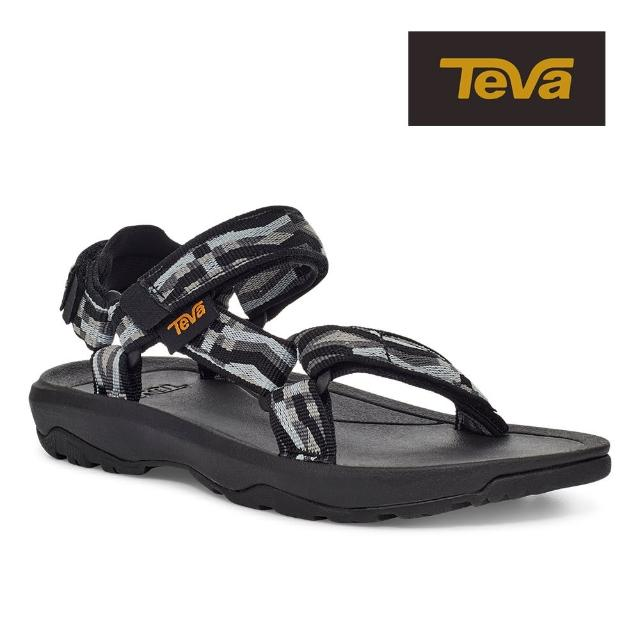 【TEVA】原廠貨 中/大童 Hurricane XLT2 機能運動涼鞋/雨鞋/水鞋/童鞋(鬥牛黑)
