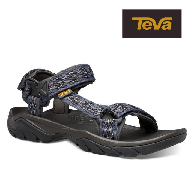 【TEVA】原廠貨 男 Terra Fi 5 戶外健行運動涼鞋/雨鞋/水鞋(劍藍色-TV1102456MGBL)