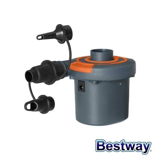 【BESTWAY】Bestway。USB充電式4.8V 電動打氣機 幫浦 62155(打氣筒 幫浦)