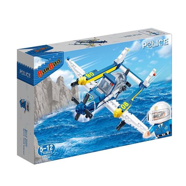 【BanBao 邦寶積木】新警察系列 水上飛機