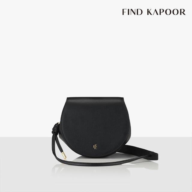 【FIND KAPOOR】COLLECTION 06系列 手提側背馬鞍包- 黑色