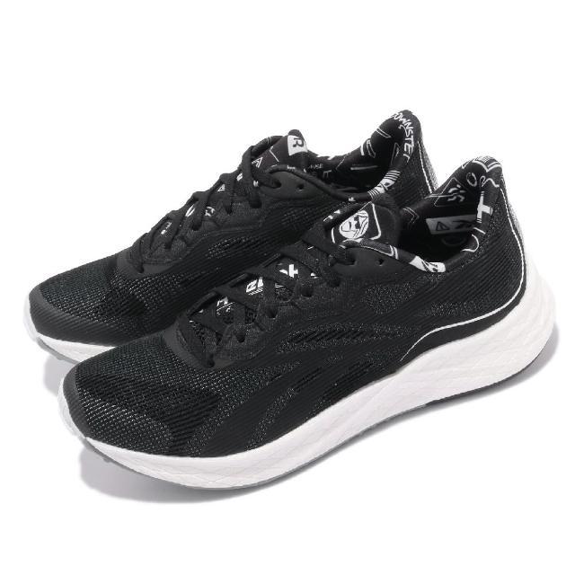 【REEBOK】慢跑鞋 Floatride Energy 女鞋 輕量 透氣 舒適 避震 路跑 健身 黑 白(FZ0682)