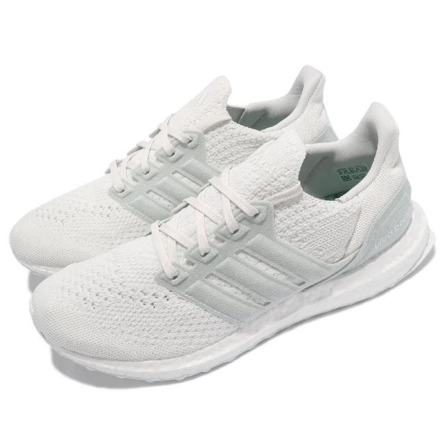 【adidas 愛迪達】慢跑鞋 Ultraboost 6.0 運動 男鞋 愛迪達 輕量 透氣 舒適 避震 路跑 白 綠(FZ0250)