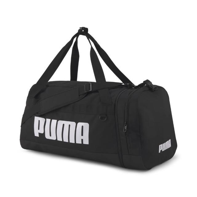 【PUMA】Challenger運動大袋 男女 旅行包 黑(07717301)