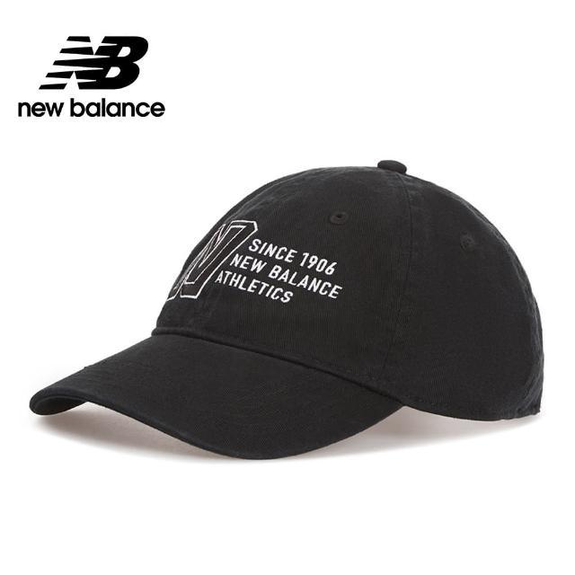 【NEW BALANCE】NB 復古棒球帽_中性_黑色_MH030410BK