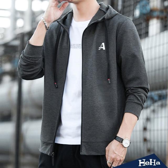 【Heha】口袋抽繩連帽外套(三色)