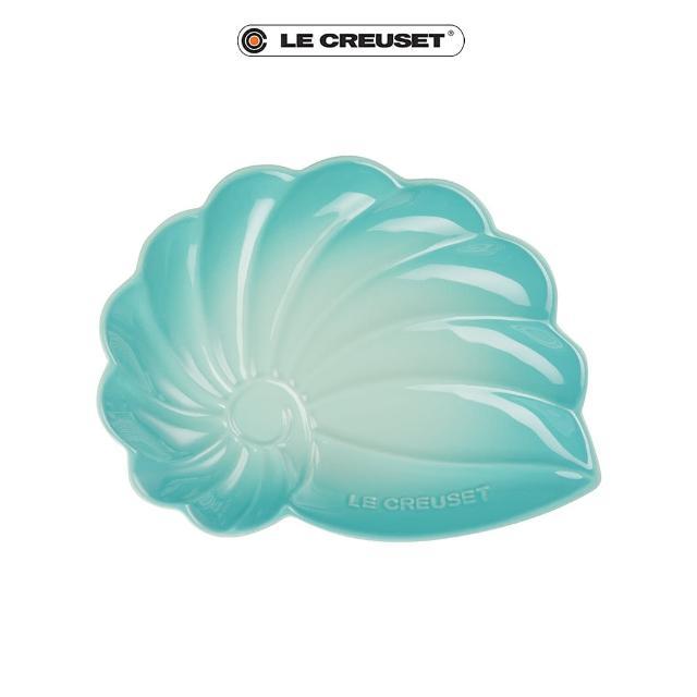 【Le Creuset】瓷器海螺貝殼盤-大(薄荷綠)