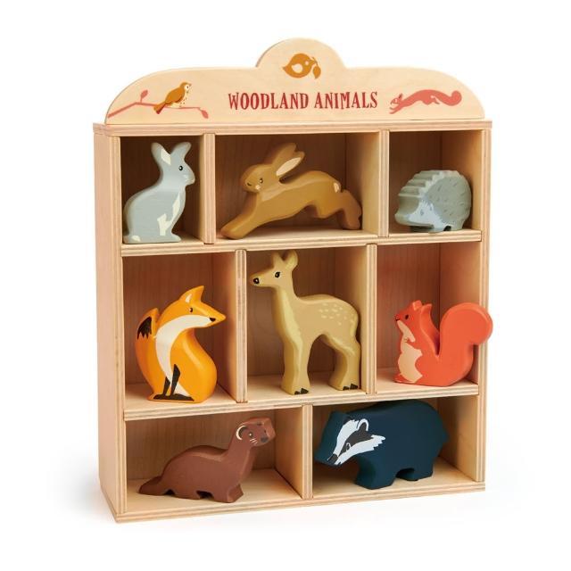 【Tender Leaf Toys】森林動物夥伴(八種動物配件)