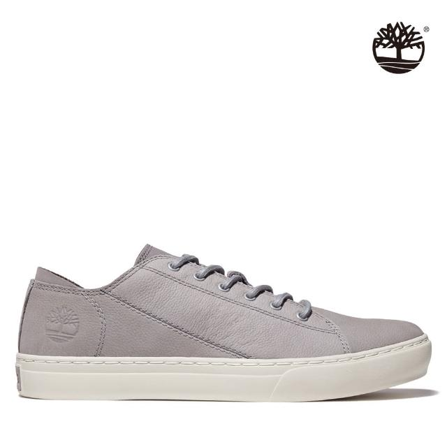 【Timberland】男款中階灰磨砂革牛津鞋(A41AZ085)