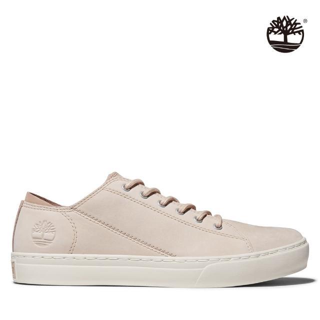 【Timberland】男款淺米色磨砂革牛津鞋(A41B9269)