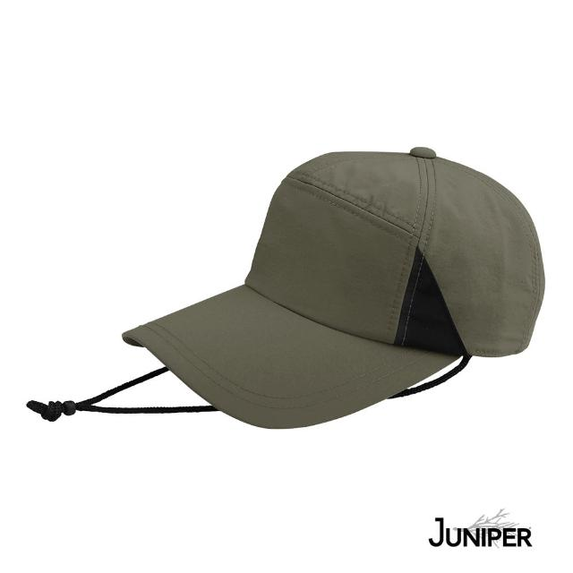 【Juniper 朱尼博】防曬抗UV休閒釣魚運動帽 MJ7219(帽子/釣魚帽/七分割帽/休閒帽/七片帽)