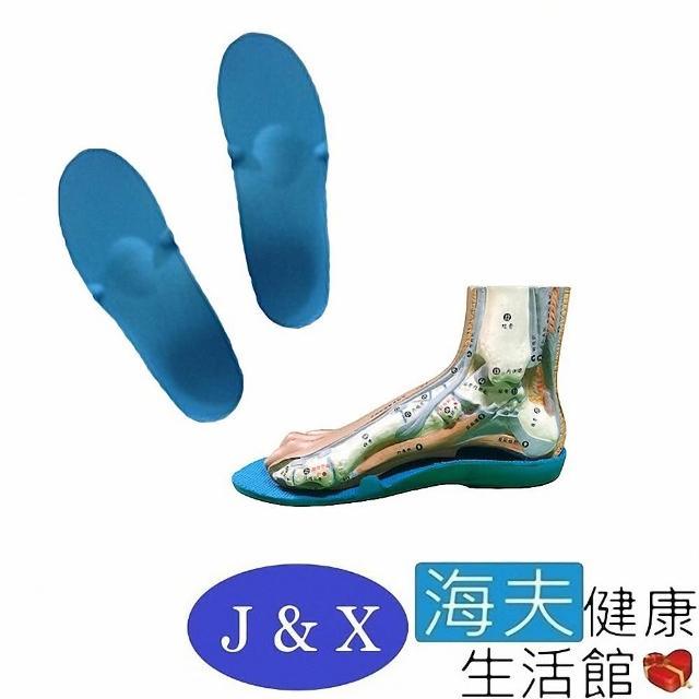 【海夫健康生活館】佳新 肢體裝具 未滅菌 佳新醫療 人體工學曲線 填充支撐 吸震 拇指外翻足鞋墊(JXFS-003)