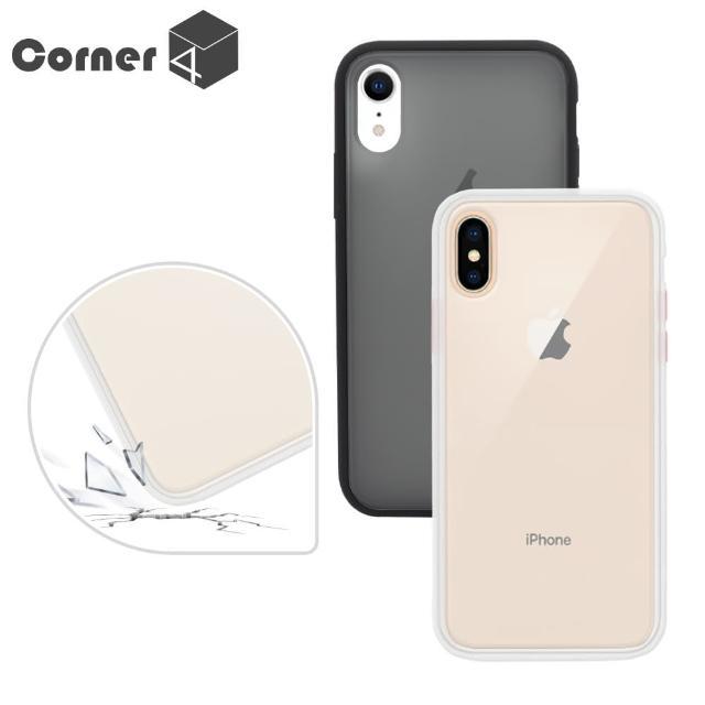 【Corner4】iPhone X 全系列 柔滑觸感軍規防摔手機殼(X / XS / XS Max / XR)