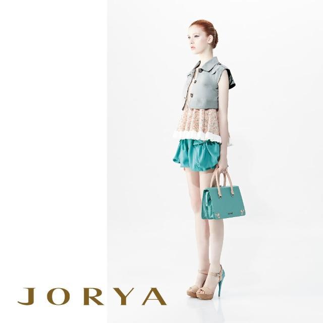 【JORYA】G1202201荷葉波浪邊混紡針織無袖上衣