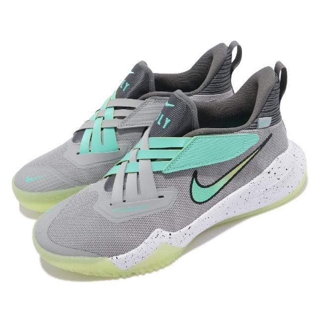 【NIKE 耐吉】籃球鞋 Zoom Flight 2 運動 女鞋 氣墊 舒適 避震 包覆 支撐 球鞋 灰 黃(DB6708-001)