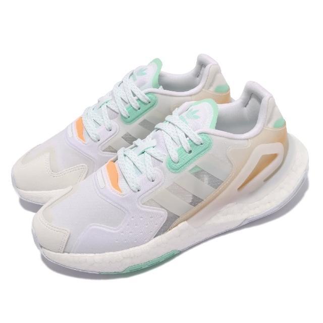 【adidas 愛迪達】休閒鞋 Day Jogger 運動 女鞋 愛迪達 輕量 透氣 舒適 避震 穿搭 白 綠(GW4910)