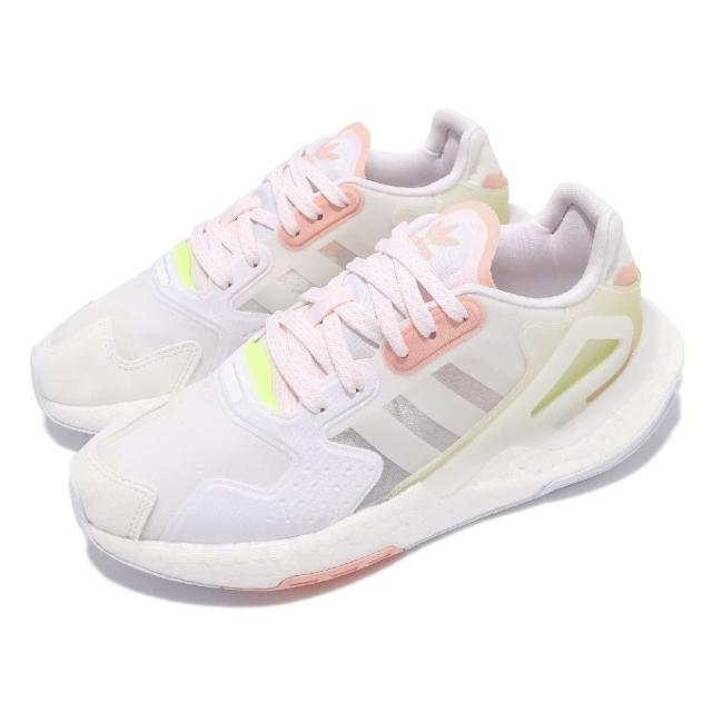 【adidas 愛迪達】休閒鞋 Day Jogger 運動 女鞋 愛迪達 輕量 透氣 舒適 避震 穿搭 白 黃(GW4914)