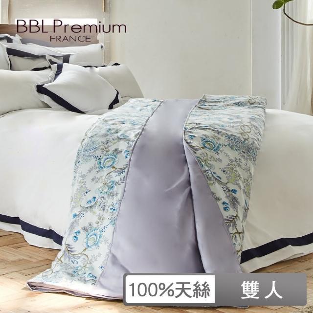 【BBL Premium】100%天絲.印花鋅抗菌涼被-鄂圖曼靜謐藍(雙人)